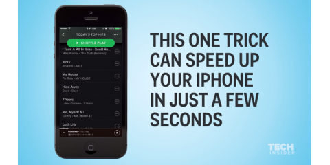 Is your iPhone running slow?  Try this simple & quick trick to help.  http://ow.ly/uLhV30bJxZe, Washington, Ohio