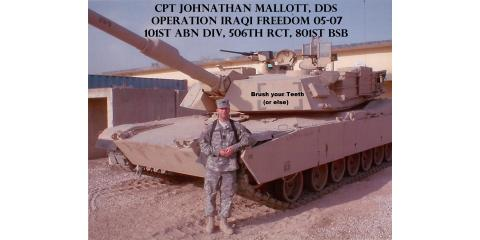 """Keen Dental Care says """"Thank you!"""" to all Military and First Responders with a special 10th Anniversary Discount, Columbia, Missouri"""