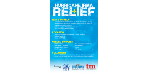 Hurricane Irma Relief, Tulsa, Oklahoma