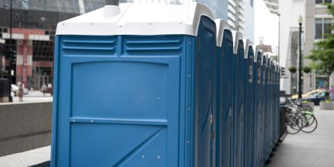 The Blue Liquid in Porta Potties: What Is It?, Ironton, Ohio