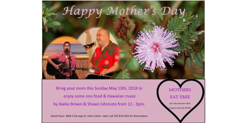 Come Celebrate Mother's Day Hawaiian Style!, Spring Valley, Nevada