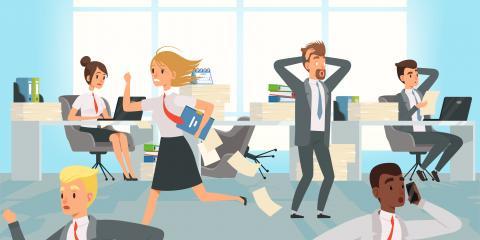 Learning Skills to Manage Job Stress, Greensboro, North Carolina