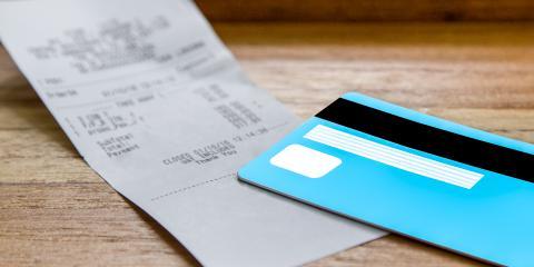 Credit Card Receipts, Puunene, Hawaii