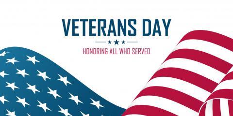 Happy Veterans Day from Sharrard, McGee & Co., PA, Greensboro, North Carolina