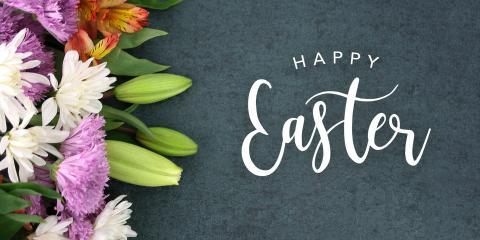 Happy Easter from Sharrard, McGee & Co., PA, Greensboro, North Carolina