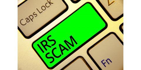 New IRS Impersonation Scam Spreading by Email, Greensboro, North Carolina