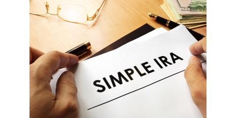 October 1 Deadline to Set Up SIMPLE IRA Plans, Greensboro, North Carolina