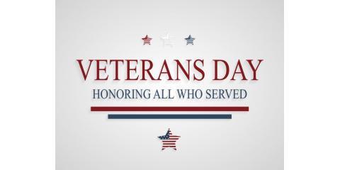 Happy Veterans Day, High Point, North Carolina