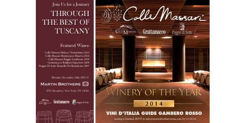 Join NYC's Best Wine Shop For An Exclusive Italian Wine Tasting, Manhattan, New York