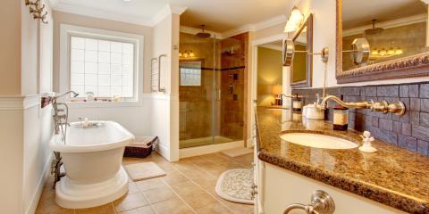 The Pros & Cons of Various Bathroom Countertops, Jackson, California
