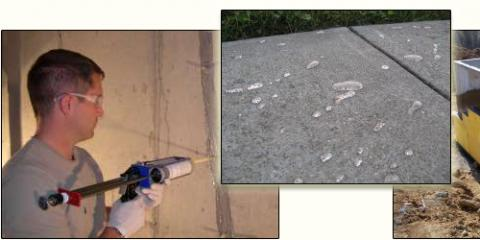 Crack in your basement? Call our office for a quote! We can get you on our schedule! 5137380084, Westfield, Indiana