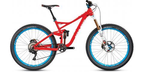 Jamis Defcon and Borealis fat bikes, Dobbs Ferry, New York
