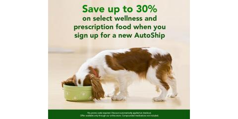 ONLINE STORE: SAVE UP TO 30% ON SELECT FOOD WITH AUTOSHIP, Wisconsin Dells, Wisconsin