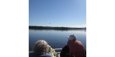 Hillview residents enjoy the morning on Lake Onalaska, La Crosse, Wisconsin