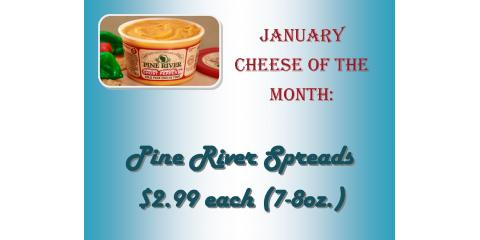Cheese Spreads for $2.99, Luxemburg, Wisconsin