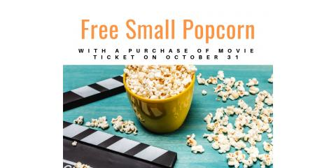 Free Popcorn with Movie Ticket Purchase, Falco, Alabama