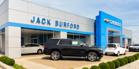Jack Burford Chevrolet, Car Dealership, Shopping, Richmond, Kentucky