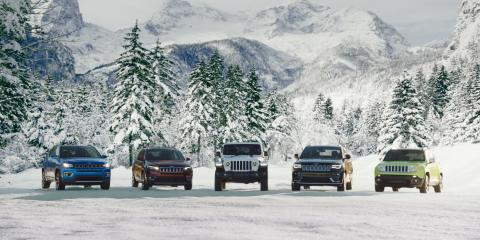 5 Benefits of Being a Jeep-Owner During Winter, Canandaigua, New York