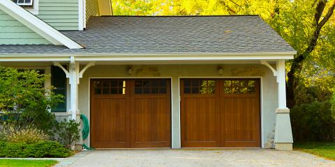 5 Common Materials for Garage Doors, Jessup, Maryland