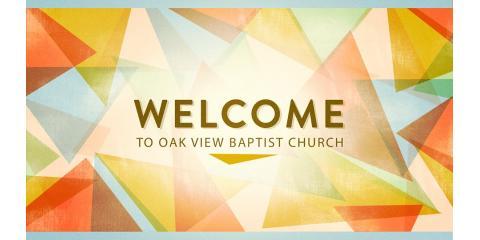 Oak View Baptist Church, Churches, Services, High Point, North Carolina