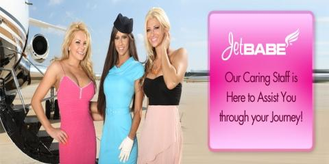 JetBabes Holly, Heather & Jill Introduce Their New Advertisement For Cosmetic Surgery, Manhattan, New York