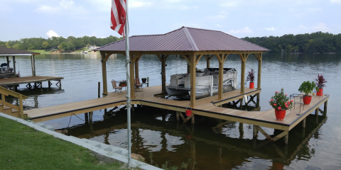3 Ways a Custom Boat Dock Can Make Your Home Stand Out, Talladega, Alabama