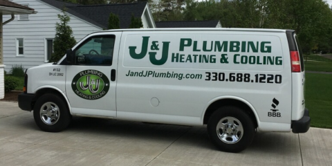 J & J Plumbing, Heating & Cooling, Plumbers, Services, Tallmadge, Ohio
