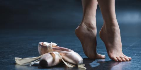 How to Care for Feet in Pointe Shoes, Newark, Ohio