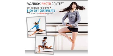 Joffrey Ballet School Facebook Photo Contest: Enter to Win a $100 Gift Certificate From American Dance Apparel , Manhattan, New York