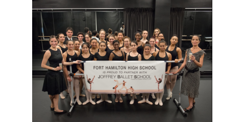 Joffrey Ballet School Partners With Fort Hamilton High School For New Dance Program, Manhattan, New York