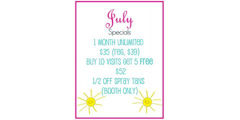 July Specials!, High Point, North Carolina