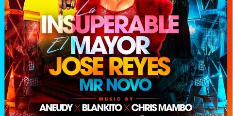 LA INSUPERABLE- EL MAYOR- JOSE REYES LA MELAZA - MR NOVO - MAMAJUANA CAFE QUEENS , New York, New York