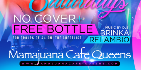 SABROSO SATURDAYS- JUNE 29th- MAMAJUANA CAFE QUEENS, New York, New York