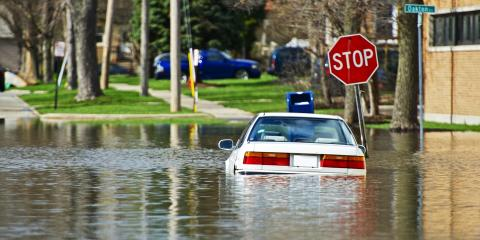 Junking a Car Ruined by Flooding, Goshen, Ohio