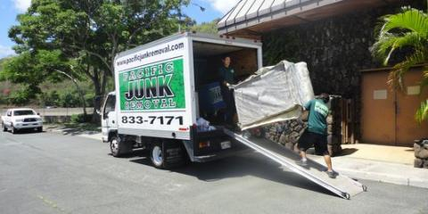 Pacific Junk Removal, Waste Management, Services, Honolulu, Hawaii