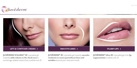 This Voucher -$200OFF any JUVÉDERM® for smile lines or lips, Lake Worth, Florida