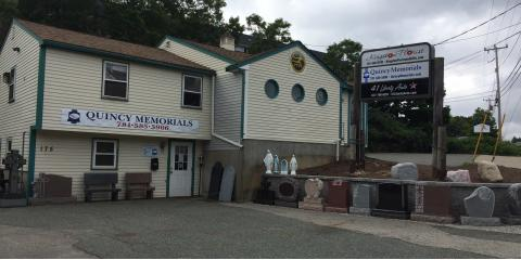 Quincy Memorials Inc, Headstones & Grave Markers, Family and Kids, Kingston, Massachusetts