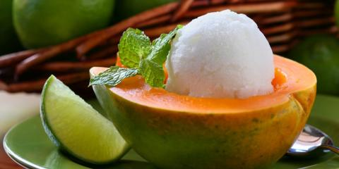 How Do Sorbet & Ice Cream Differ? Local Café Explains, Kahuku, Hawaii