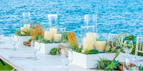 3 Beach Wedding Decor Ideas, Kahului, Hawaii