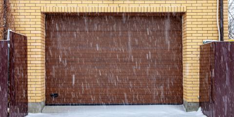 5 Tips for Safely Opening a Frozen Garage Door, Kalispell, Montana