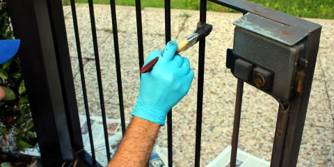 How to Maintain a Wrought Iron Gate, Evergreen, Montana