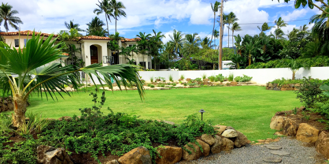 Top 5 Landscaping Tips for Rainy Climates, Koolaupoko, Hawaii