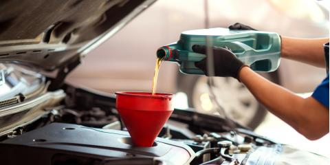 4 Vehicle Fluids That Require Changing, Kannapolis, North Carolina