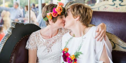 4 Creative LGBT Wedding Photo Shoot Ideas, Brooklyn, New York
