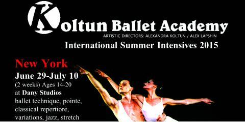Koltun Ballet Academy summer auditions 2015, Watertown Town, Massachusetts