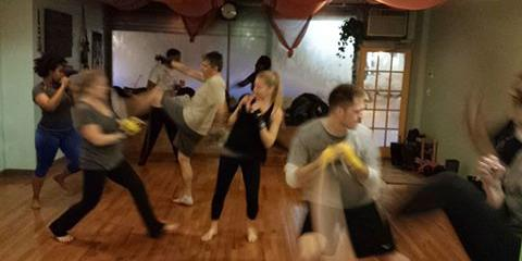 Wednesday bootcamp kickboxing, Manhattan, New York