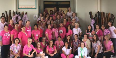 Kealakekua's Best Hospital Proudly Sponsors Breast Cancer Awareness Month, South Kona, Hawaii