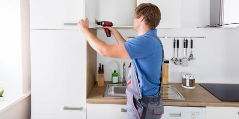 4 Steps to Hanging Kitchen Cabinets, Cincinnati, Ohio