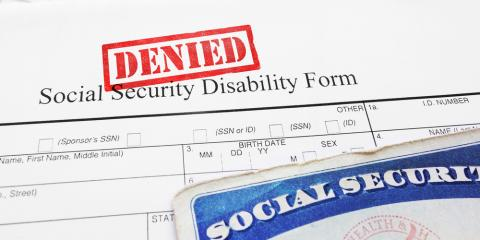 Social Security Law Professional Explains 5 Reasons Claims Are Denied, Alexandria, Kentucky
