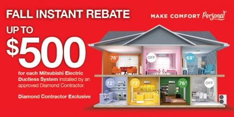 Save Up to $500 on a High-Efficiency Heating System, Exeter, New Hampshire